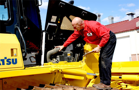Thorough inspections are made to ensure reconditioned machines are up to quality standards