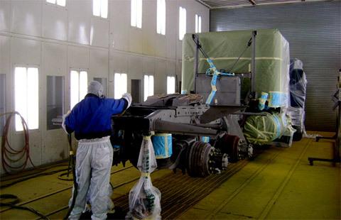 Custom Painting Service, Equipment Painting - Trucks ...